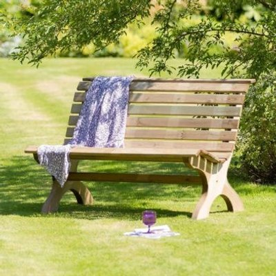 Harriet Park Garden Bench 4 Foot