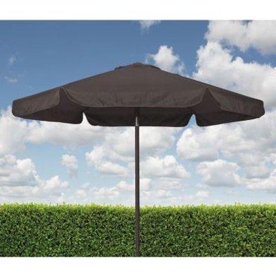 Croft Charcoal 2.2m Aluminium Tilt Outdoor Garden Parasol