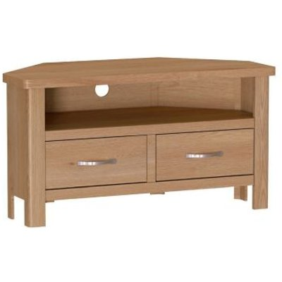 Sienna 2 Drawer Corner TV Unit