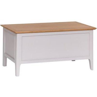 Necton Oak Dove Grey Storage Box