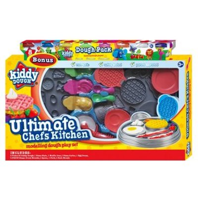 Kiddy Dough Ultimate Chef Kitchen Playset