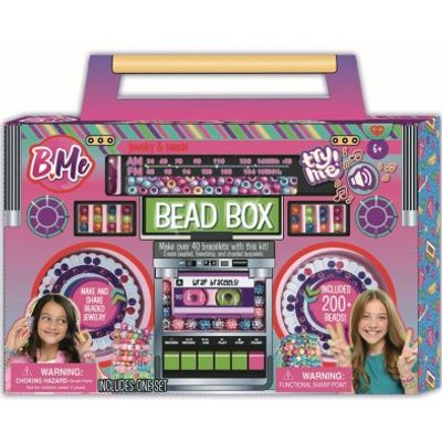 B-Me Bead Box Jewellery Making Kit With Sound Clip