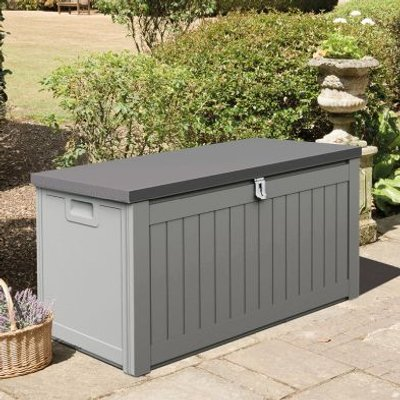 Ontario Outdoor Storage Box Grey 190L