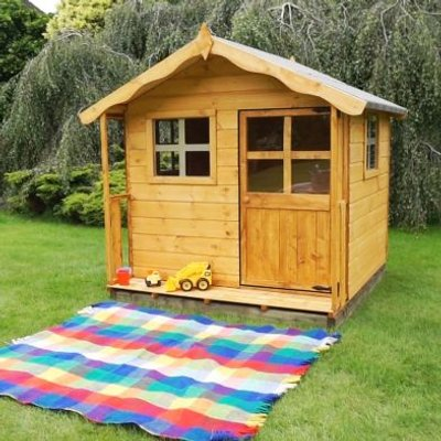 Mercia 5 x 5 Poppy Shiplap Apex Single Storey Playhouse