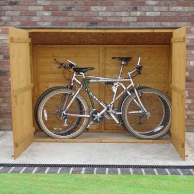Shire Shiplap Pent Garden Bike Store 6' x 2'