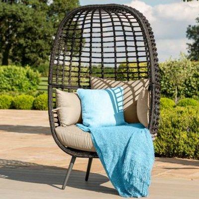 Riviera Garden Chair Brown