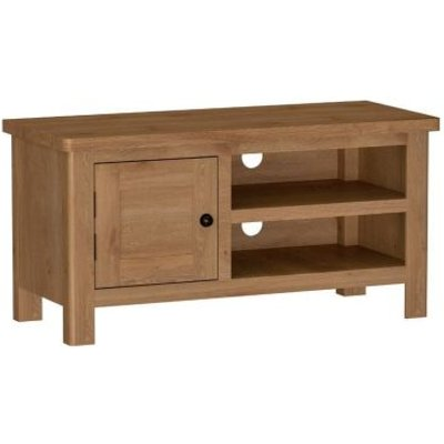 Rutland Oak TV Unit Rustic