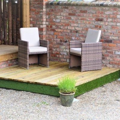 Swift Deck Premium Garden Decking Kit 2.4 x 2.4m