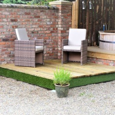 Swift Deck Premium Garden Decking Kit 4.75 x 4.7m