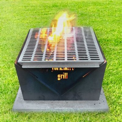 Yorkshire Grill Garden Firepit & BBQ