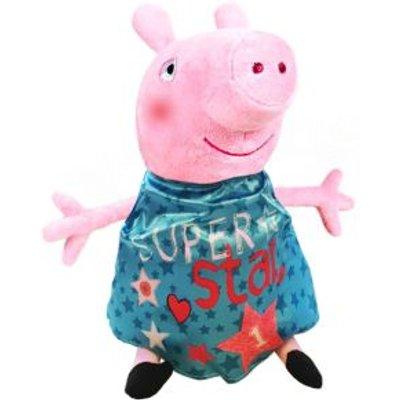 Plush Peppa Pig Super Star