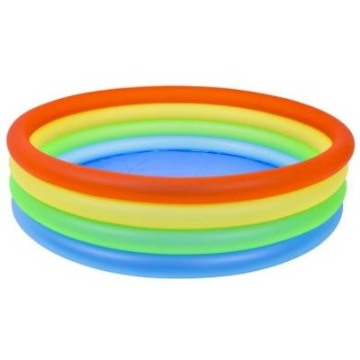 Medium Circular Neon Rainbow Pool