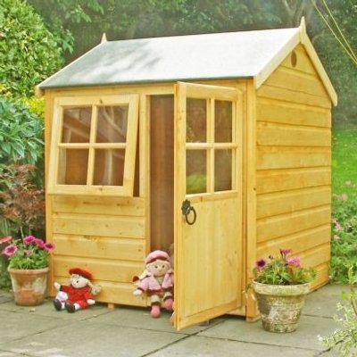 Shire Bunny Garden Playhouse 4' x 4'