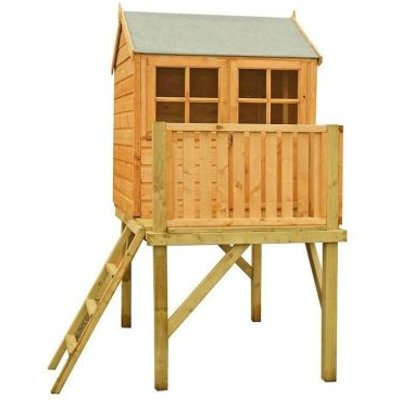 Shire Bunny Garden Playhouse & Platform 4' x 4'