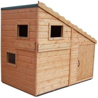 Shire Command Post Garden Playhouse 6' x 4'