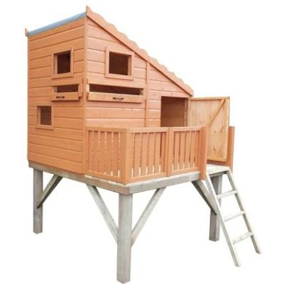 Shire Command Post & Platform Garden Playhouse (6' x 4')