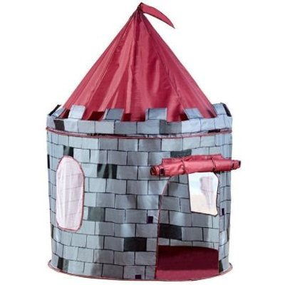 Grey Knight Castle Play Tent Indoor Outdoor Garden Playhouse
