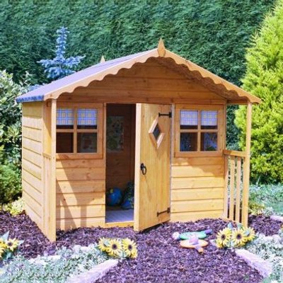 Shire Cubby Garden Playhouse 6' x 4'