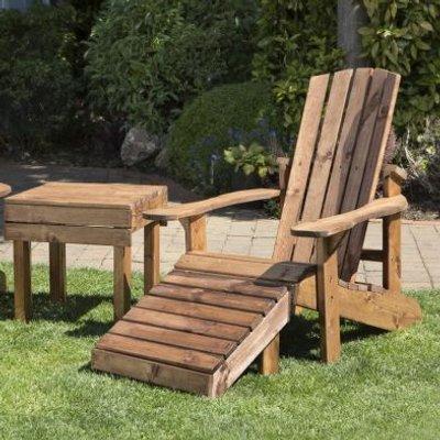 2 Seat Aidendack Style Scandinavian Redwood Garden Furniture