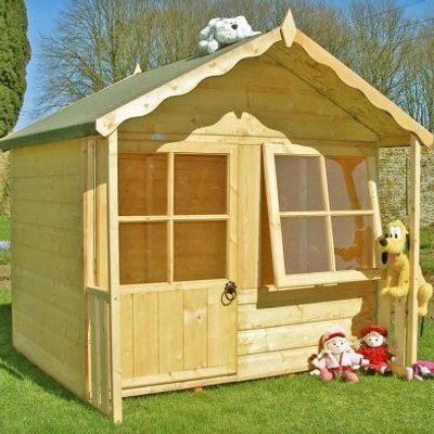 Shire Kitty Garden Playhouse 5' x 4'