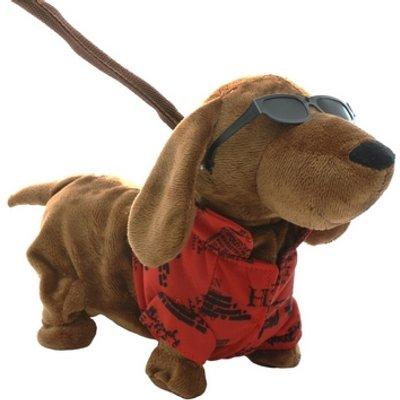Walking Animated Dog 23cm