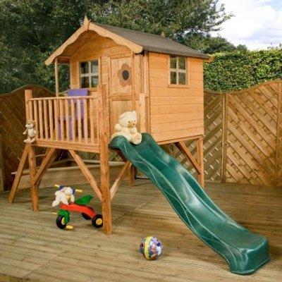 Mercia Tulip Children's Playhouse Tower & Slide 13'2