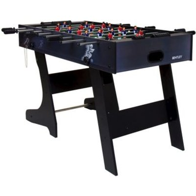 Premium 4 Foot Football Table Folding Fusball Gaming Table