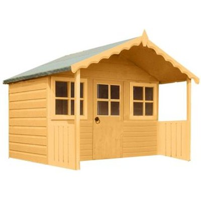 Shire Stork Garden Playhouse & Veranda 6' x 4'