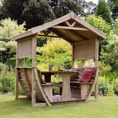 Noah Wooden Garden Arbour