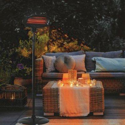 Outdoor Patio Heater Adjustable 2.1m