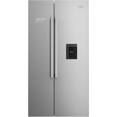 Beko ASD241X American-Style Fridge Freezer - Stainless Steel