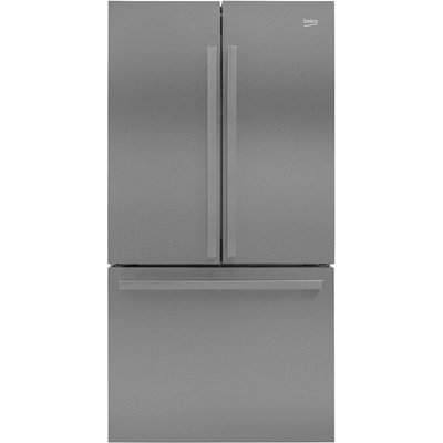 Beko GN1306211ZDX American-Style Fridge Freezer - Stainless Steel