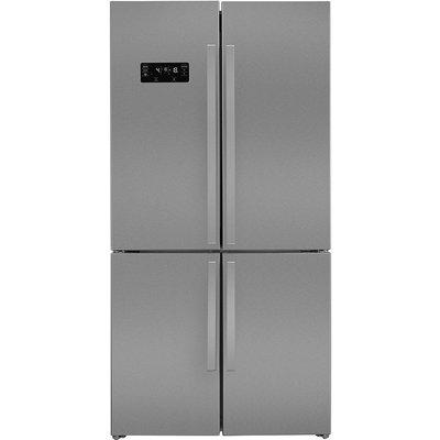 Beko GN1416221ZX American-Style Multi-Zone Fridge Freezer - Stainless Steel