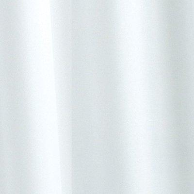 Croydex Plain Shower Curtain - White