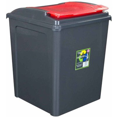 Wham Recycling Bins 50 Litre Pack of 3