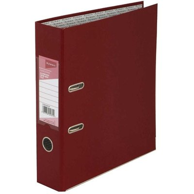 Ryman Langham Lever Arch File A4 Pack of 10, Burgundy