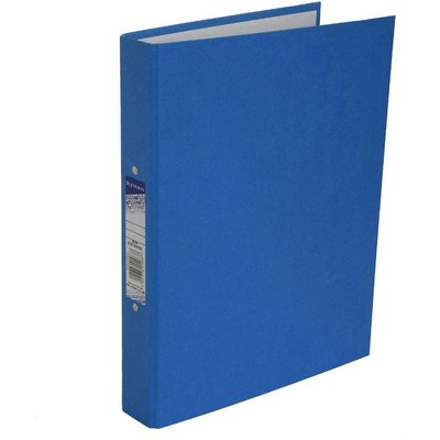 Ryman Colour Ringbinder A4 2-Ring Pack of 10, Blue
