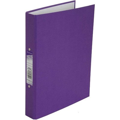 Ryman Colour Ringbinder A4 2-Ring Pack of 10, Purple
