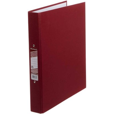 Ryman Colour Ringbinder A4 2-Ring Pack of 10, Burgundy