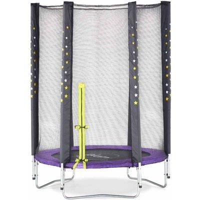 Plum Junior Stardust Trampoline and Enclosure 4.5ft