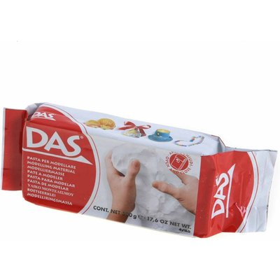 Das modelling Clay Block Pack of 24 White, White