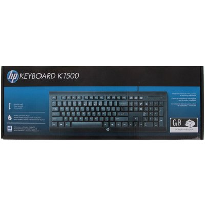 HP Wired Keyboard K1500 - 0888182530979