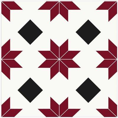 Orion Peel and Stick Floor Tiles, Multi