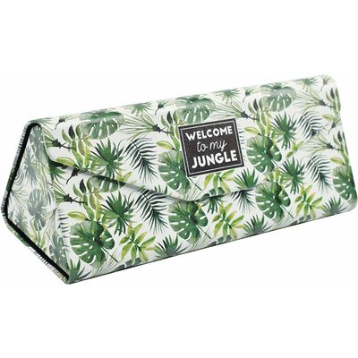 Legami See You Soon Foldable Glasses Case Jungle, Green