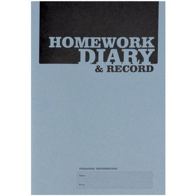 Silvine A5 Homework Diary 75gsm Pack of 20 - 5011566435200