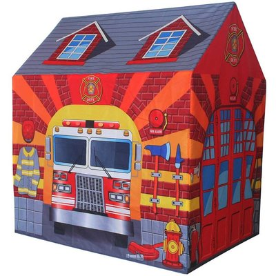 Charles Bentley Fire Station Play Tent, Red