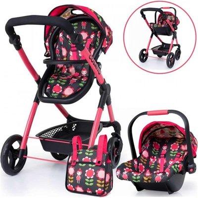 Cosatto Me Mo Dolls Pram   Carseat   Fairy Garden - 4003336411584