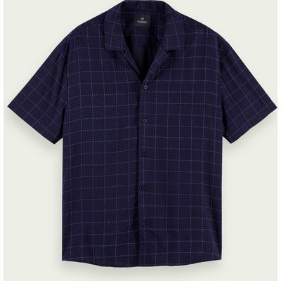 Scotch & Soda Leichtes, kurzärmliges Shirt mit Print