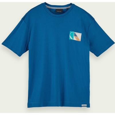 Scotch & Soda Kurzärmliges T-Shirt aus Bio-Baumwolle