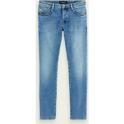 Scotch & Soda Ralston– Midday Blauw, Regular Slim Fit Jeans
